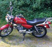 Die Yamaha YBR125 Custom
