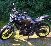 Die Yamaha MT 07